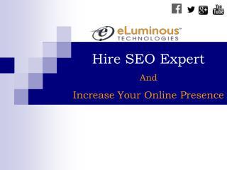 Hire Seo Expert -eLuminous Technology