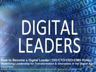 How to Become a Digital Leader
