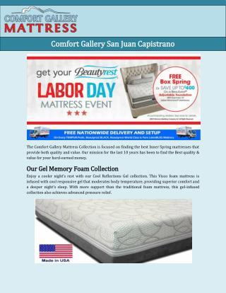 Comfort Gallery San Juan Capistrano