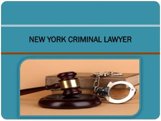 Criminal lawyer NYC