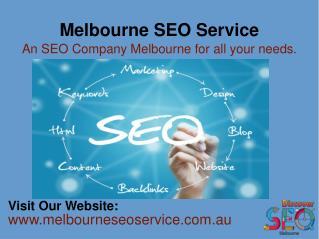 SEO Agency Melbourne | Search Engine Optimization Melbourne