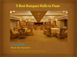 5 Best Banquet Halls In Pune
