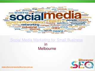 social media marketing for small business in Melbourne