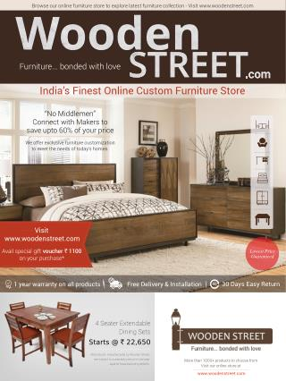 India's Finest Online wooden Furniture Store