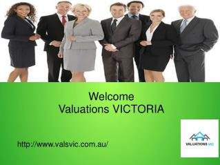 Find Property Valuation Services with Valuation VIC