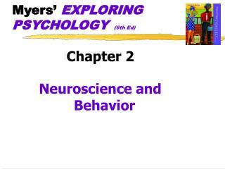 Myers  EXPLORING PSYCHOLOGY  6th Ed