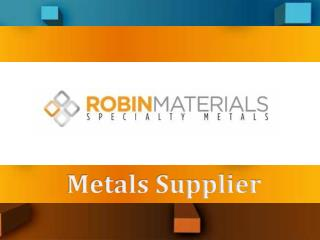 Metals Supplier