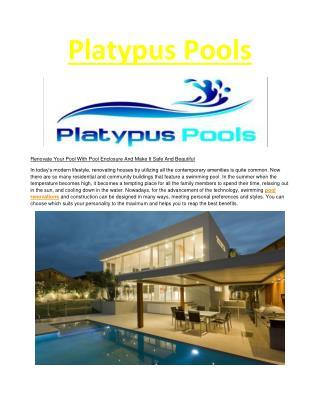 Platypus Pools-pool renovations Brisbane