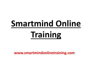 Smartmind Online Training Strategy | Smartmind Online Training Review
