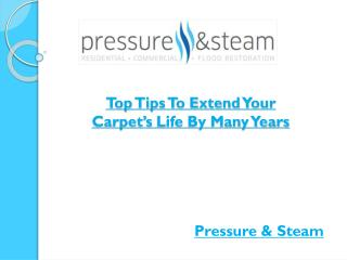 Top Tips To Extend Your Carpet's Life By Many Years