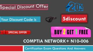 CompTIA Network  N10-006 Exam Questions