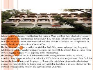 Hotel Modi Inn Rockside