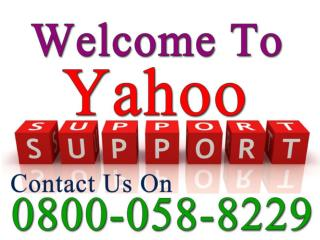 Yahoo Technical Support UK 0800-058-8229 Number