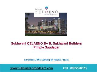 Sukhwani CELAENO Flats in Pimple Saudagar, Pune - 2 BHK