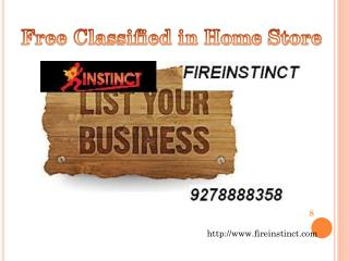 free classifieds in Home Store @8527271018