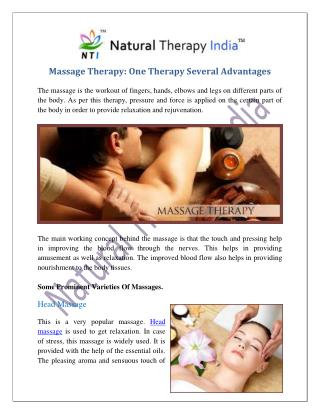 Massage Therapy Centres In India | Massage Therapy Expert