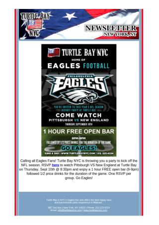 Eagles Football Weekend Special