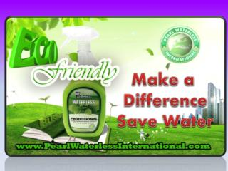 Pear Waterless International  with Pearl make Difference