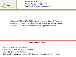 Dentist & optical algodones