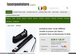 Puntatore laser vendita