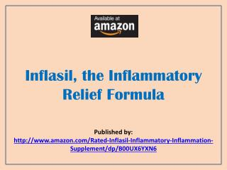 Inflasil, the Inflammatory Relief Formula