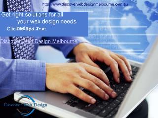 Discover Webdesign Melbourne-a Responsive Web Design Company Melbourne