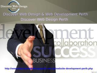 Discover Web Devlopment Perth