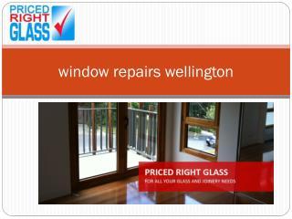 window repairs wellington