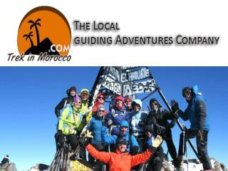Trekking the adventourous mountains tour of Morocco