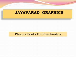 Phonics Books For Preschoolers