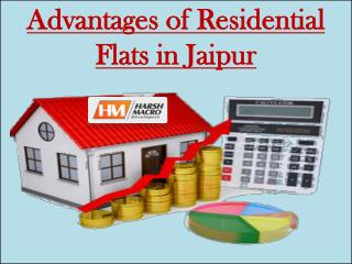 Advantages of Residential Flats in Jaipur