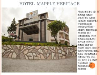 Hotel Mapple Heritage