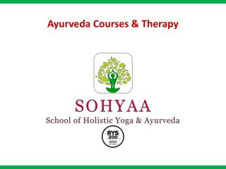 Ayurveda Courses & Therapy