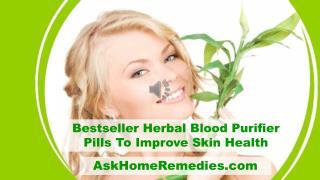 Bestseller Herbal Blood Purifier Pills To Improve Skin Health