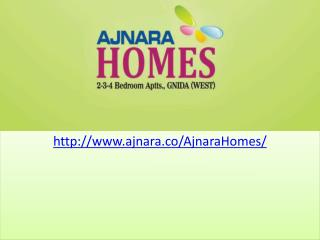 Ajnara Homes 3 and 2 Apartments
