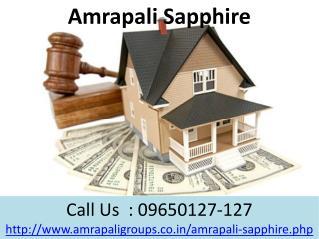 Amrapali Sapphire Living homes @ 09650-127-127