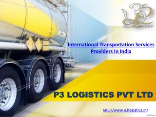 International Transportation Services Providers In India