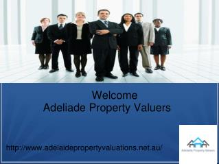 Adelaide Property Valuations for Your Valuation Work