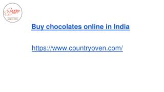 Imported chocolates online | Countryoven