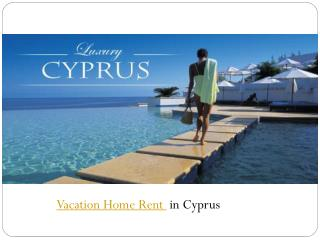 vacation home rent in cyprus