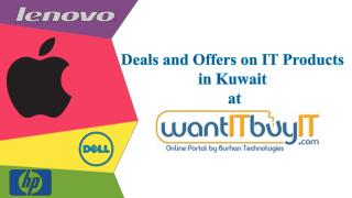 Deals and Offers on IT Products Online in Kuwait
