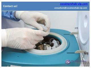 Cocaine rehabilitation Dr Vorobiev