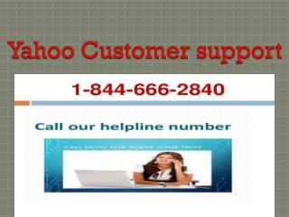 Yahoo Customer Support Services help for Yahoo