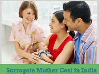 Surrogate Mother Cost in India - Surrogacy Cost in India