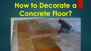 How Does Polishing Concrete Shine an Old Floor?