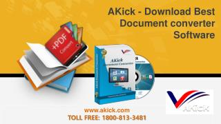 AKick - Download Best Document converter Software