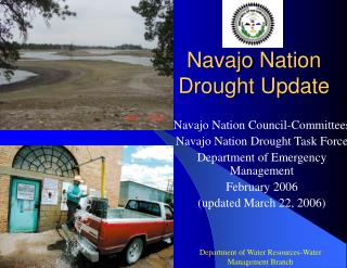 Navajo Nation Drought Update