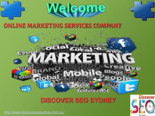 Online Marketing Services Company Sydney