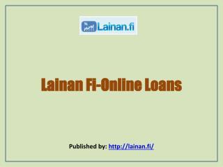 Lainan Fi-Online Loans