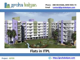Flats for Sale in ITPL